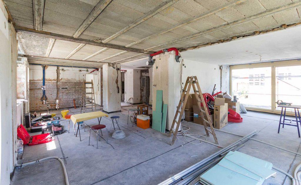 Baustelle Effizienzhaus 55 Schenkenzell Sanierung