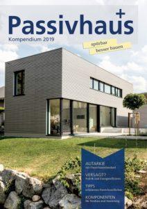 Jetzt lieferbar: Passivhaus Kompendium 2019 – Titelbild von uns !