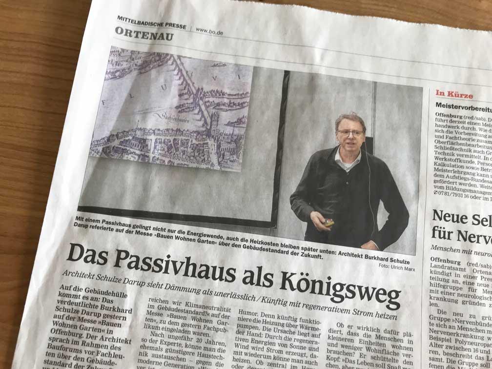 Bauforum in Offenburg – Auf die Gebäudehülle kommt es an!
