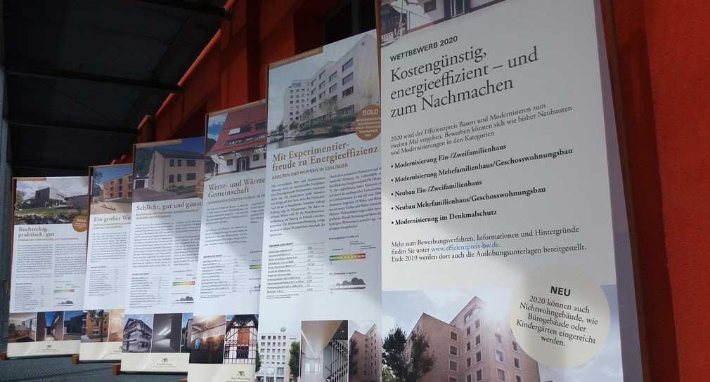 Bundesgartenschau – Ausstellung Landeswettbewerb Effizienzpreis Bauen und Modernisieren